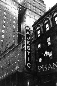 The Majestic, home of Phantom of the Opera on Broadway, NYC