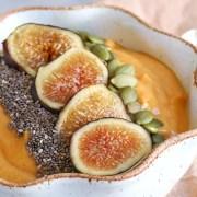 Pumpkin Fig Smoothie Bowl