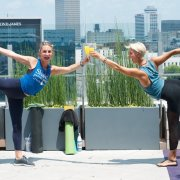 L.A. Jackson Kicks Off Summer Rooftop Fitness Classes