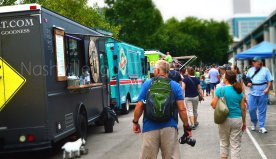 2014 Nashville Street Food Awards - Steaming Goat, Retro Sno, and Dawg Daze are lined up and ready to serve!
