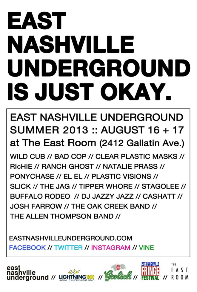 East Nashville Underground Summer 2013