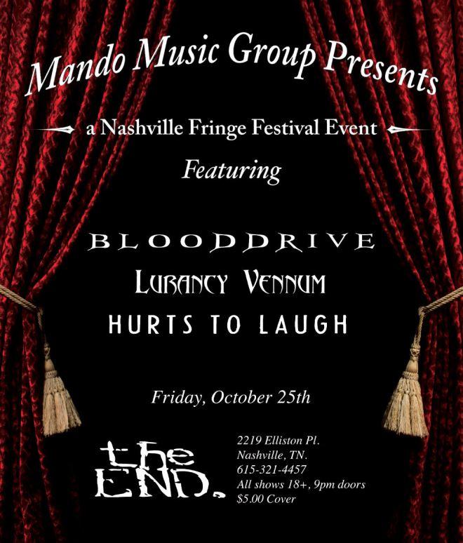Blooddrive Nashville Fringe Festival