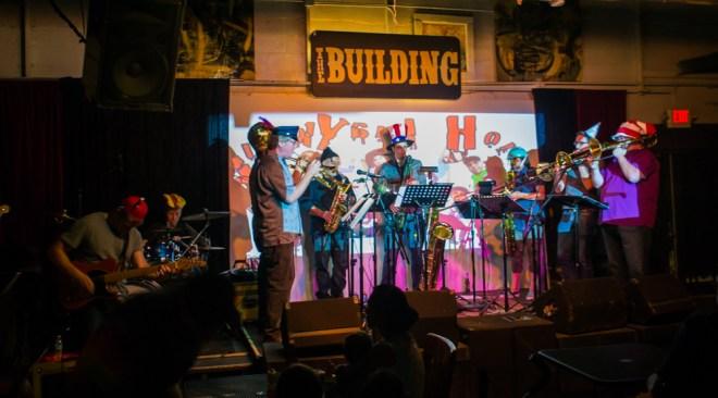 Chris West JunkYard Horns Building June 2014 02