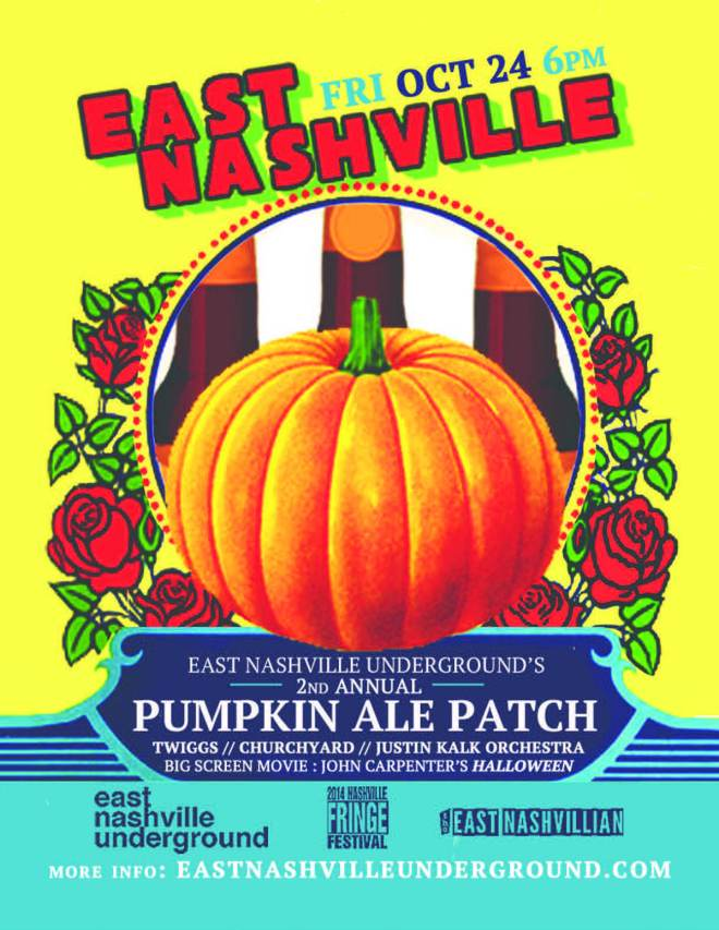 East Nashville Pumpkin Ale Patch 2014
