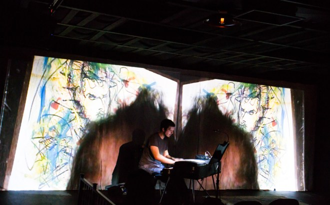 Matt Endahl with visuals by Daniel Arite