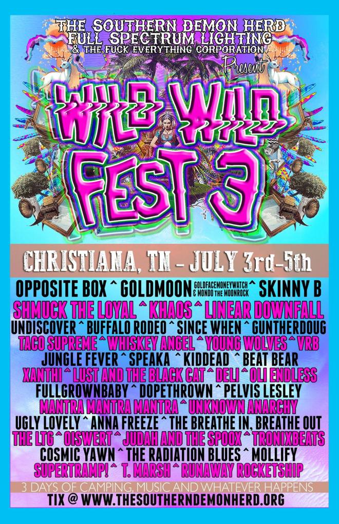 WILD WILD FEST Music and Arts Festival