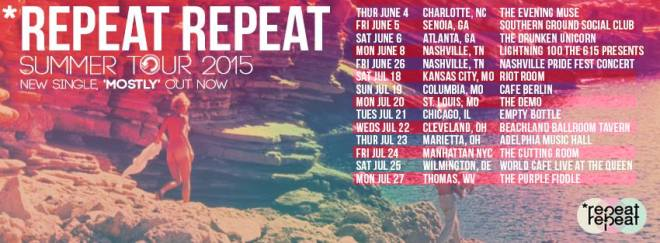 repeat repeat summer tour 2015