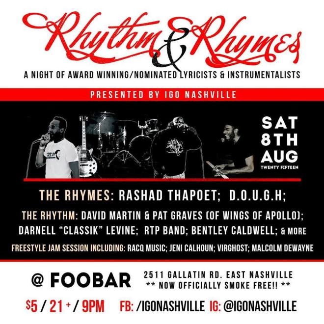 Rhythm Rhymes 2015 Nashville