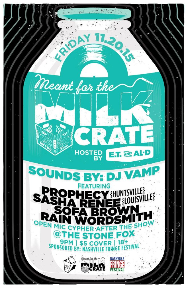 Meant for the Milk Crate December 2015