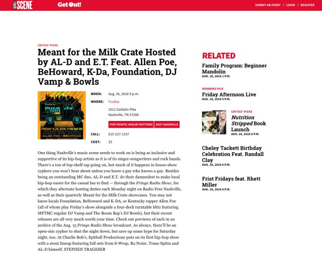 MFTMC Critics Pick