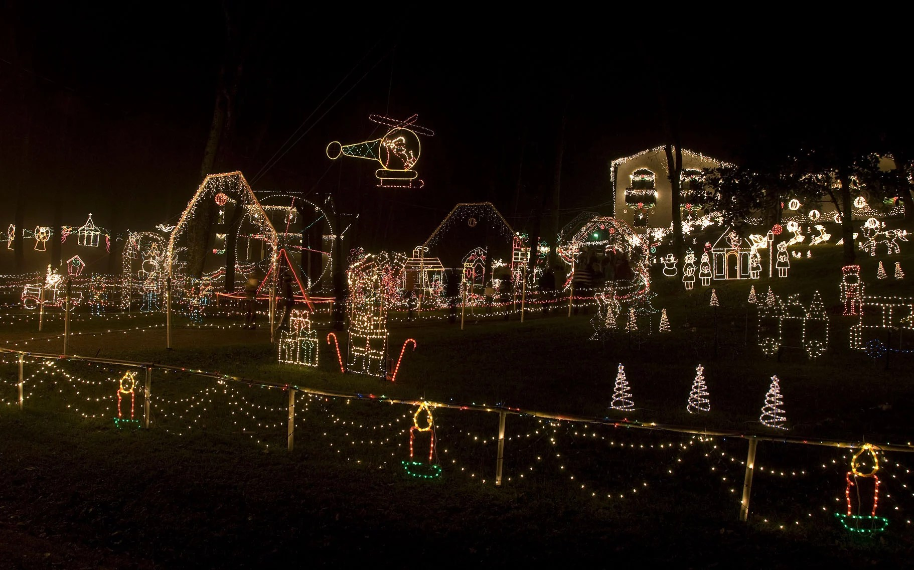2016 christmas lights displays in nashville and middle tennessee