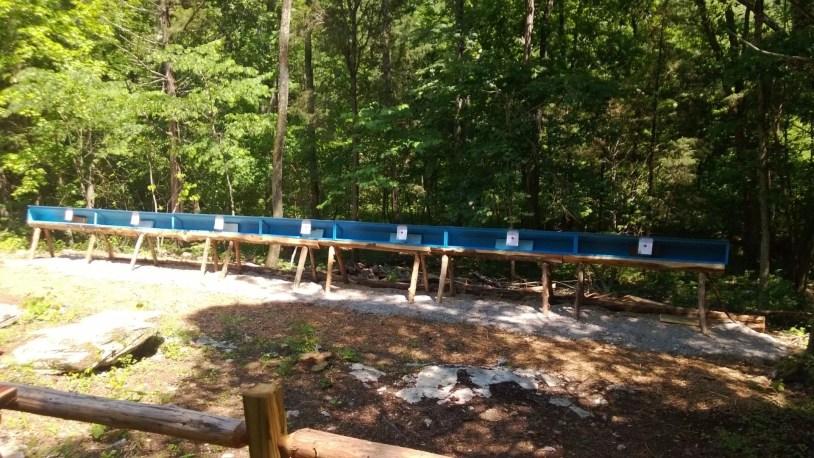 Nashville fun for families - Kentucky down under - air rifle targets