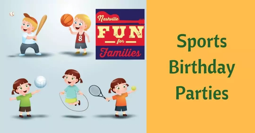 Sports Birthday Party Venues Nashville Fun For Families