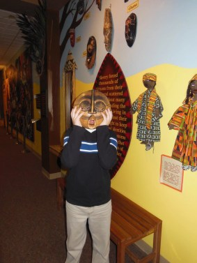 Earlyworks Museum - Huntsville - African area