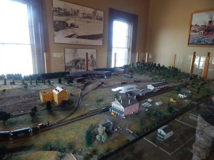 Huntsville Depot - Model set up for 1860 Huntsville