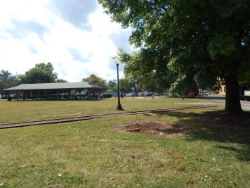 Huntsville Depot - Picnic area and sand pit
