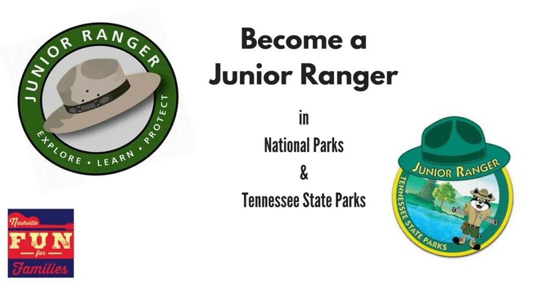 Fall Guide for Family fun in Nashville - Junior Ranger programs