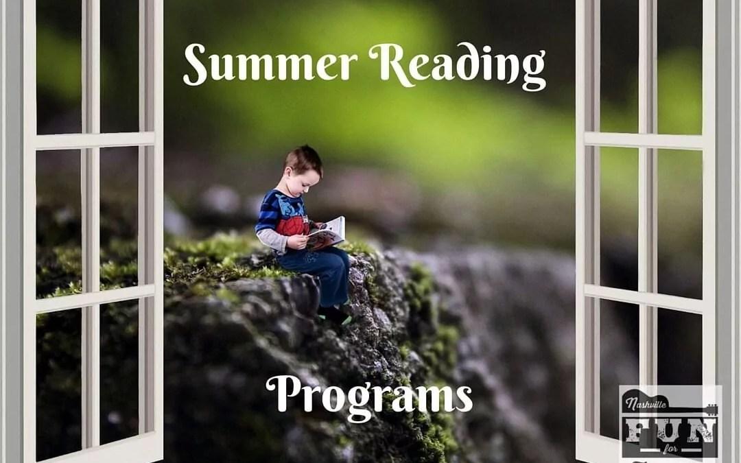 2017 Summer Reading Programs