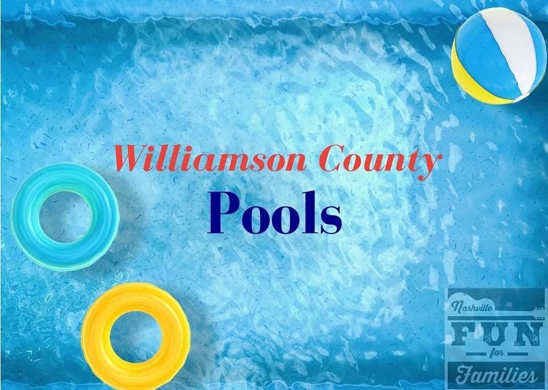 Williamson County Pools