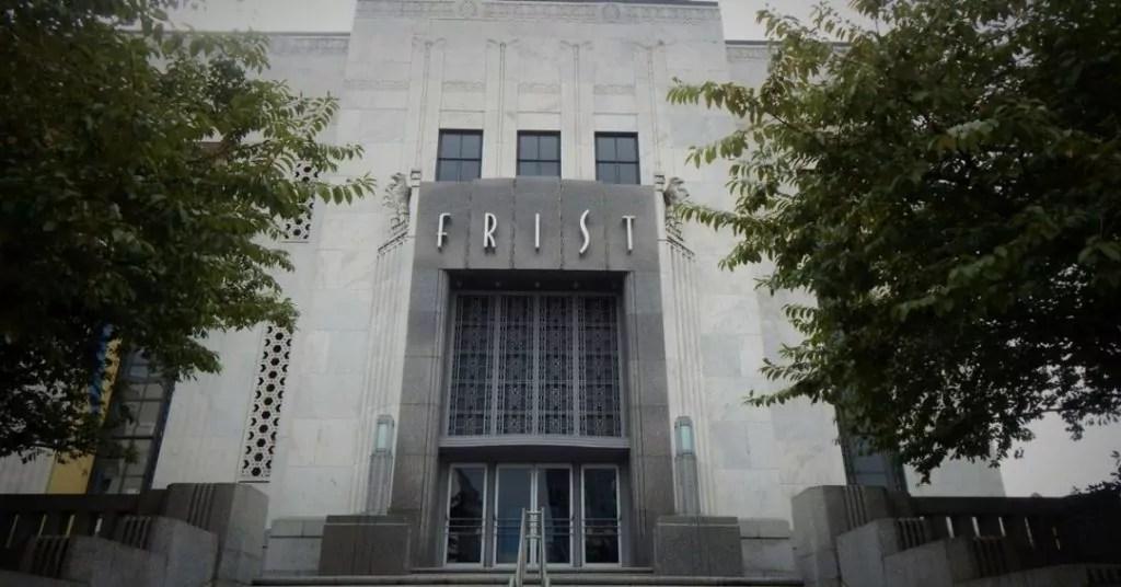 The Frist Center Entrance