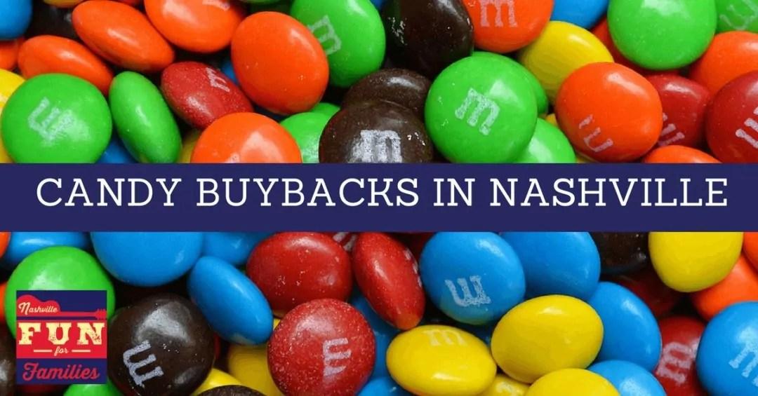 Halloween Candy Buybacks in Nashville