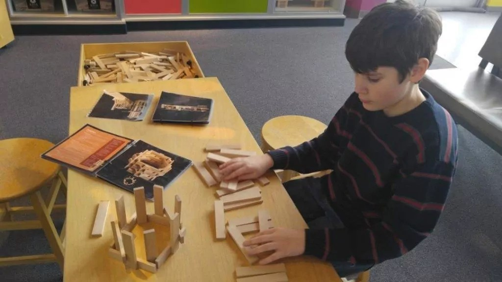 Discovery Park of America - Building with Kava blocks