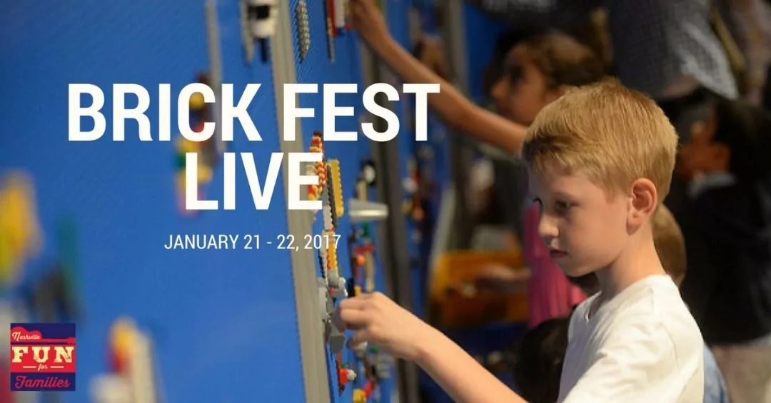 Win Tickets to Brick Fest Live in Nashville!