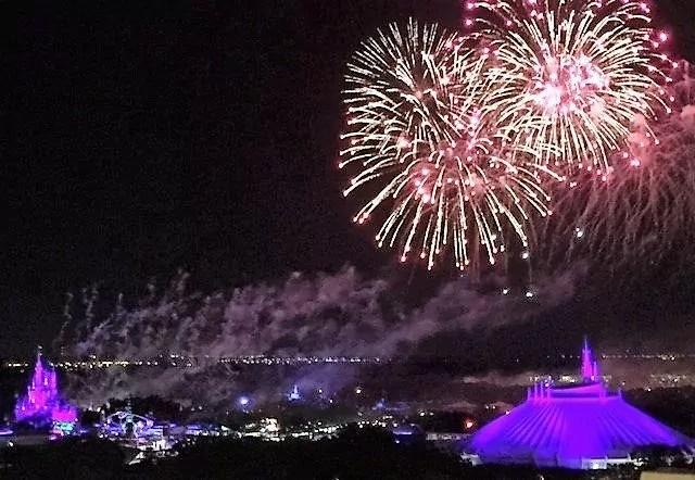 First Trip to Disney World - Fireworks at Magic Kingdom