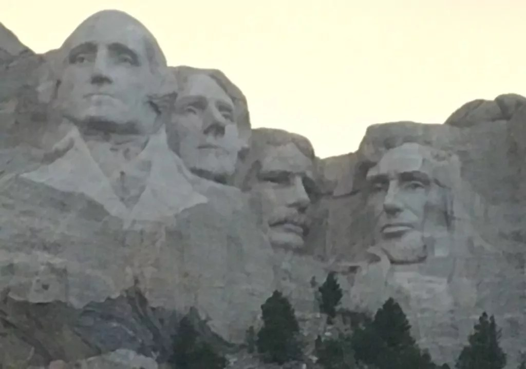 In Awe of the Black Hills - Mount Rushmore