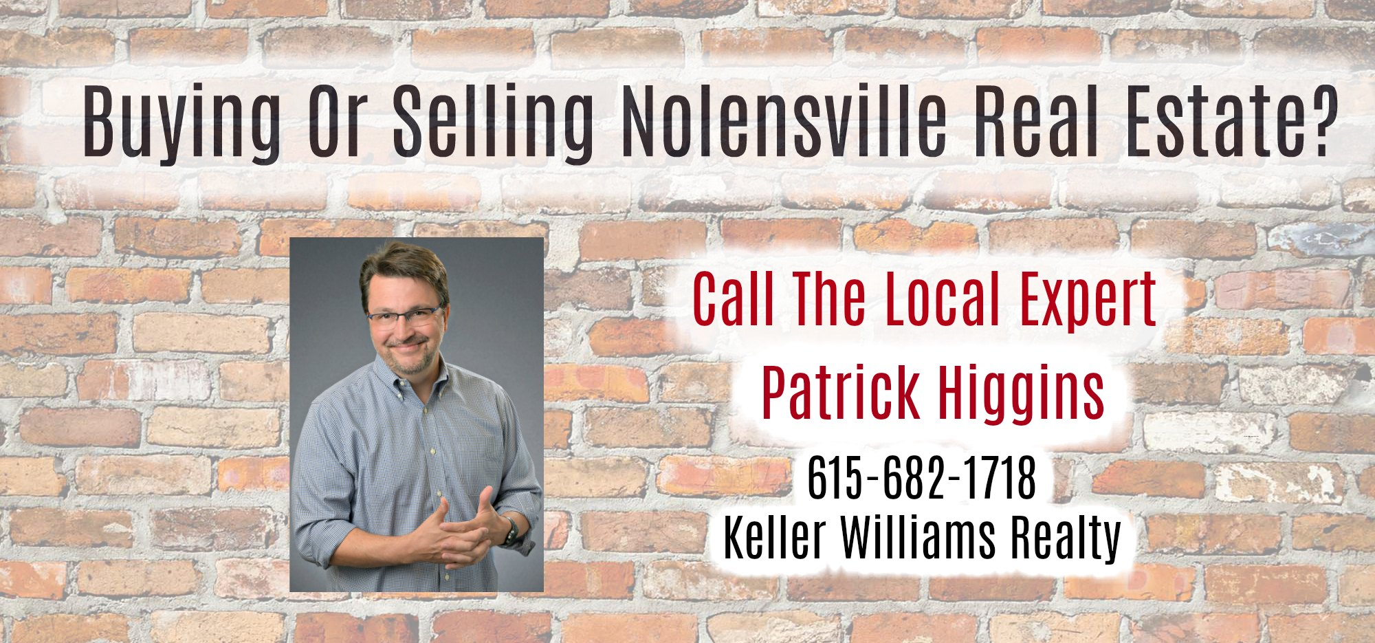 Nolensville New Construction Realtor - Patrick Higgins Keller Williams realty