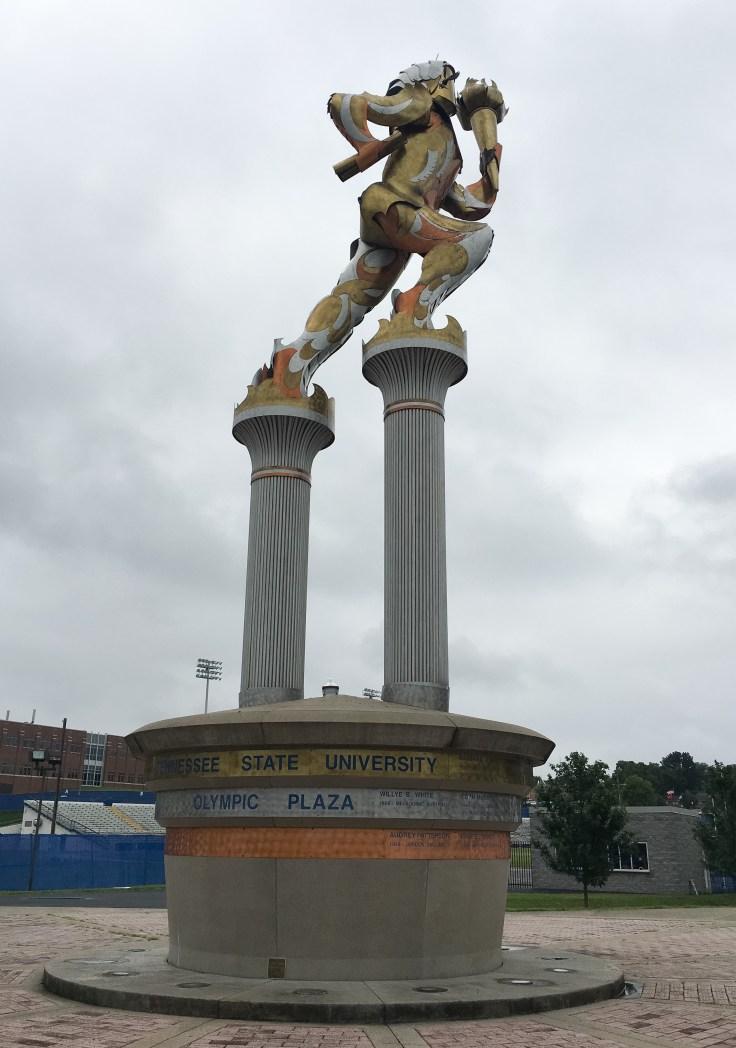 Olympian statue Nashville TSU