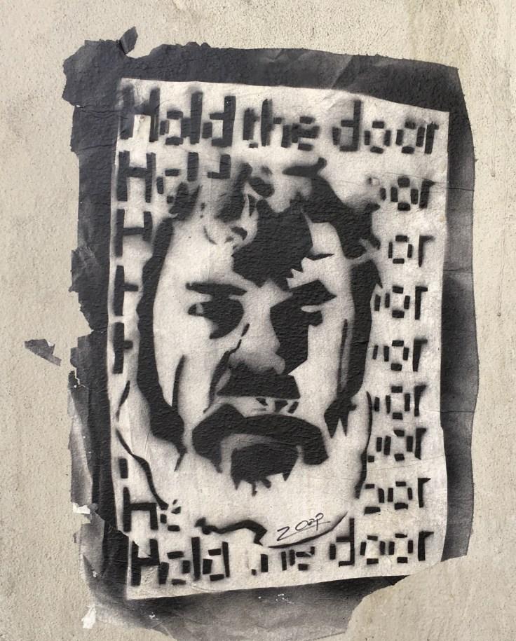 Sticker art Zoop street art Nashville