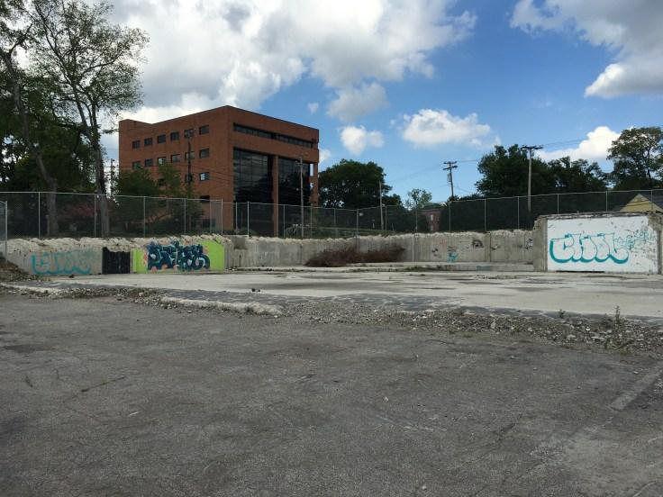 Graffiti tags Nashville street art