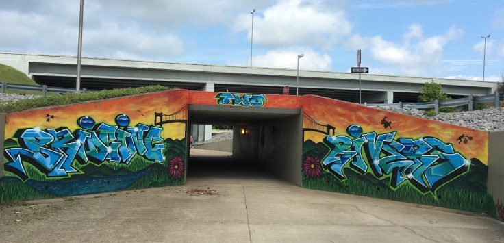 Graffiti street art mural Nashville