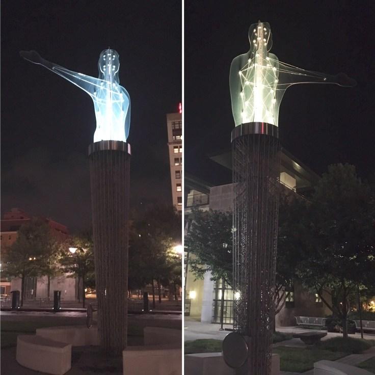 Citizen statues public art Nashville