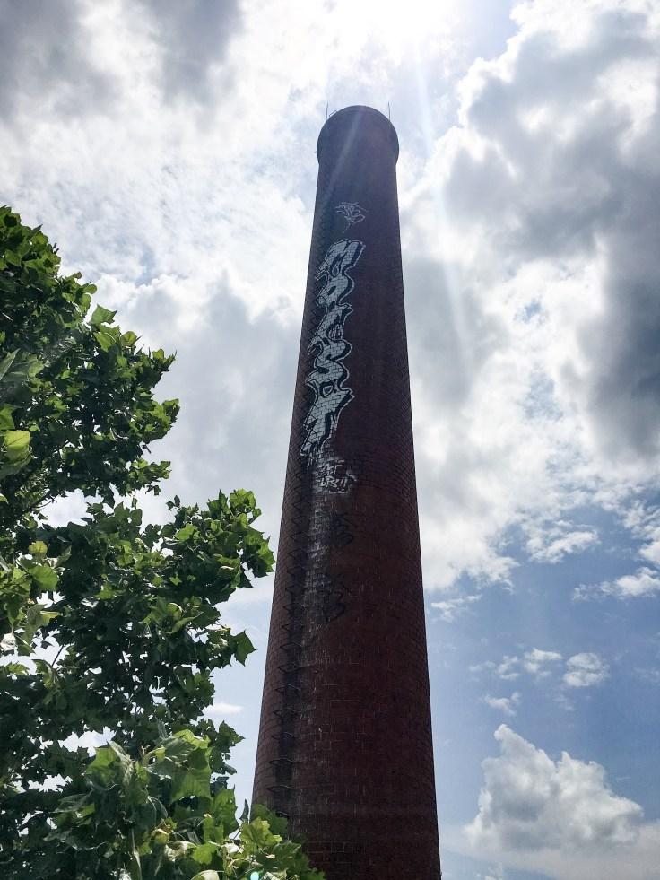 Moist Tower mural street art Nashville graffiti