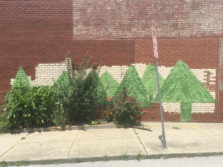 Tree mural street art Nashville
