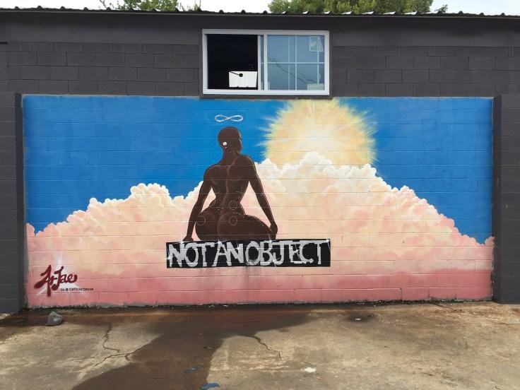 NotAnObject mural street art Nashville