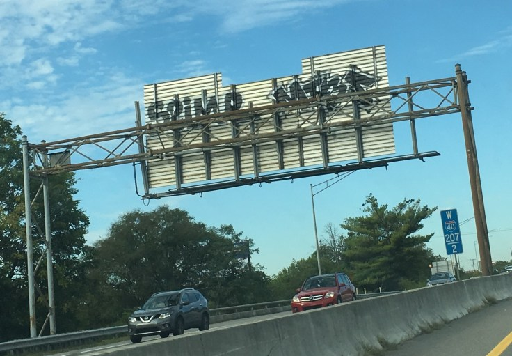 Freeway graffiti street art Nashville