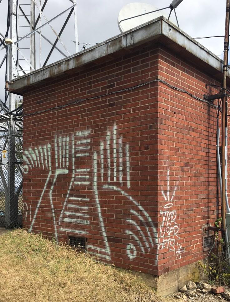Graffiti art mural street art Nashville
