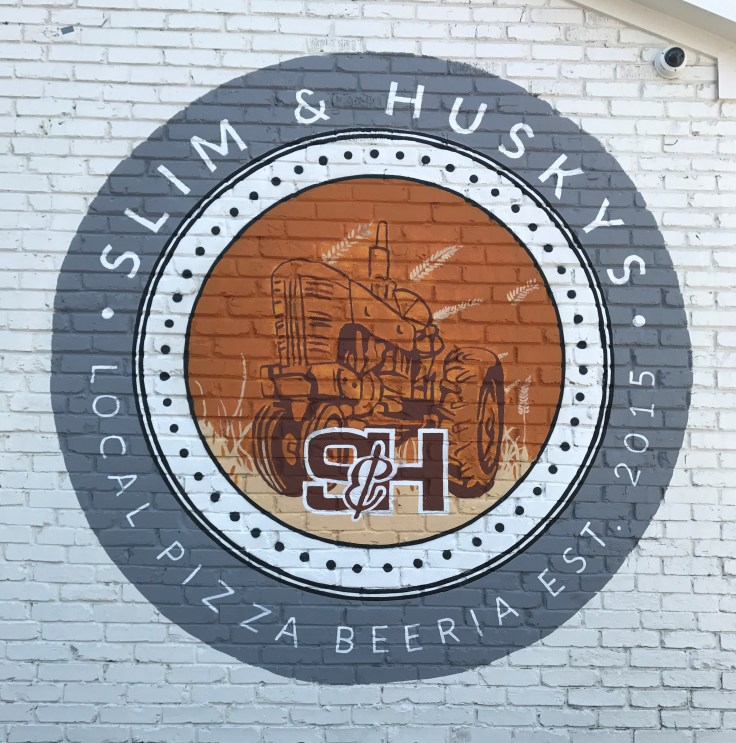 Slim and Husky's Logo