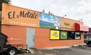 Mexican Restaurant street art mural Nashville