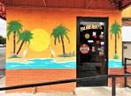Beach Scene street art mural Nashville