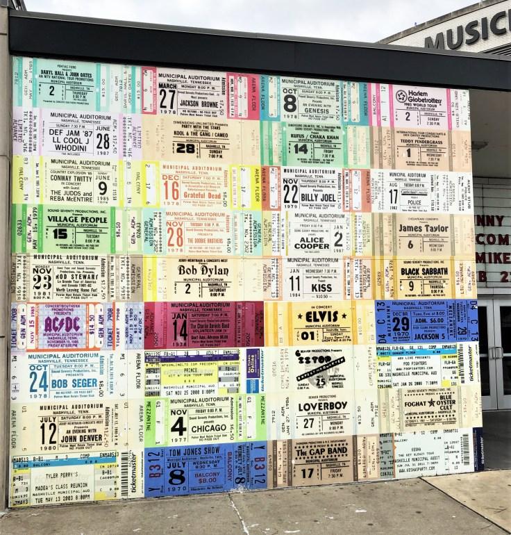 Tickets mural street art Nashville