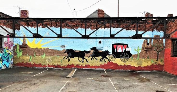 Gold Rush Mural street art Nashville