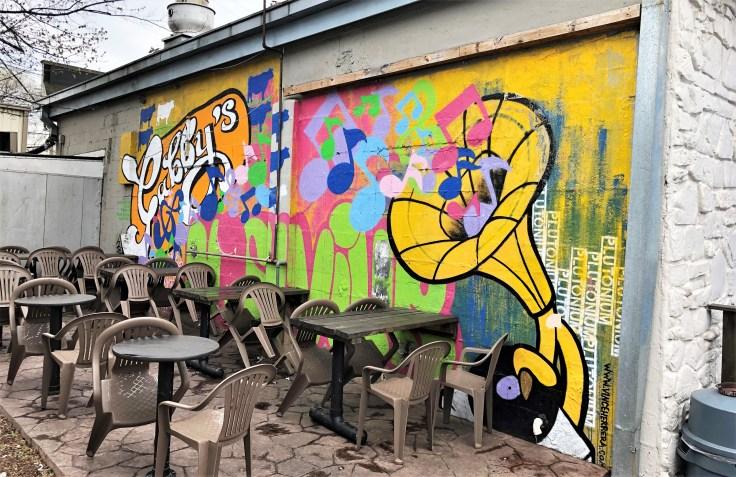 Gabby's mural street art Nashville