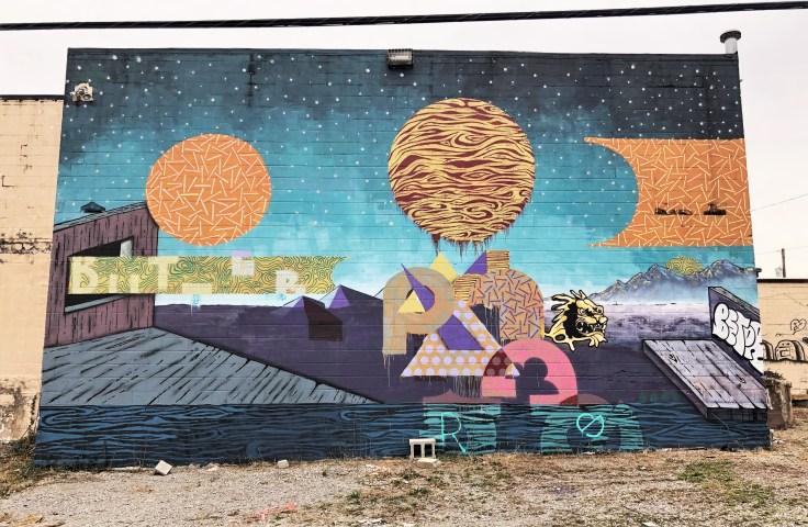 Panda Betor Mural
