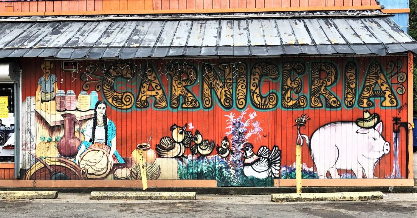 Caniceria mural street art Nashville