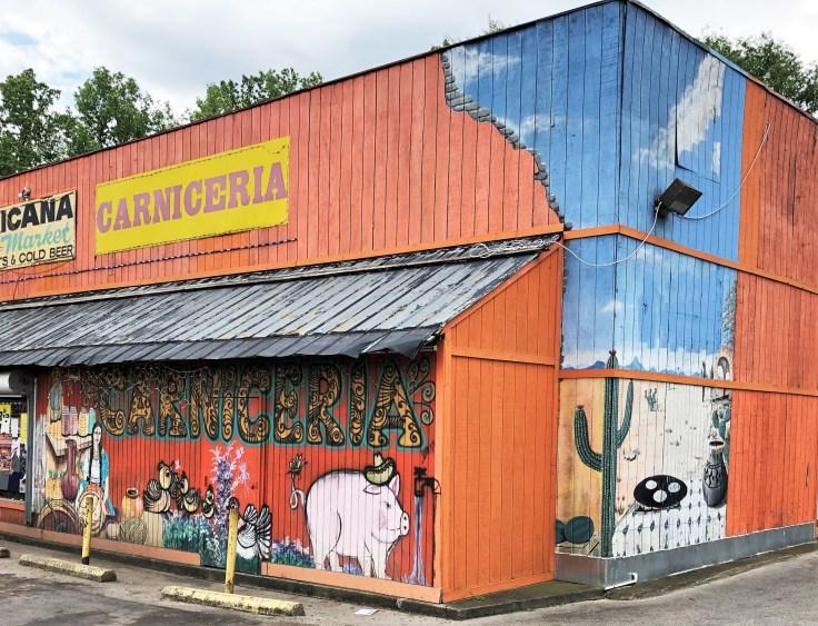 Market mural street art Nashville