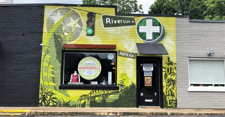 Hempsterville mural street art Nashville